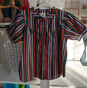 Euc stem puffy sleeve dress tunic